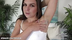 Hairy Hardcore Wet Fucking Machine Juliette March ATK Hairy