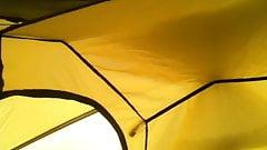 Branle sous la tente