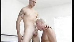 Furious anus stuffing session