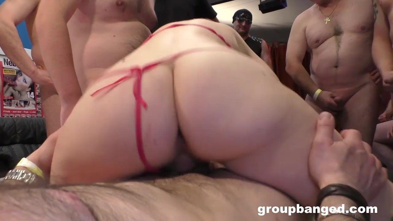 GangBang Turns MILF's Asshole Inside Out