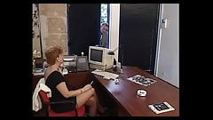 Lady fisted by the cleaning girl