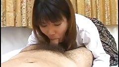 Cute Japaneses Teen Sucks You Dry !