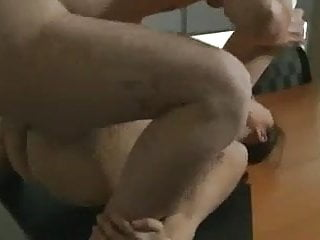 Horny Asian Wife Hardcore Fucked by Colleague