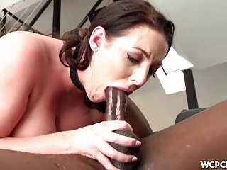 Angela White Loves Big Black Cock