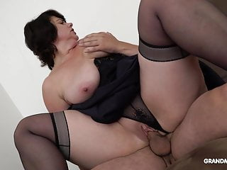 Rich Horny grandma pays for every fuck she gets