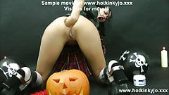 VAMPIRE GIRLS LOVE ANAL TOYS & FISTING TOO - HOTKINKYJO