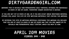 APRIL 2019 News at Dirtygardengirl anal prolapse fisting
