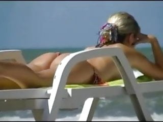 sexy not my step mother on Beach62015