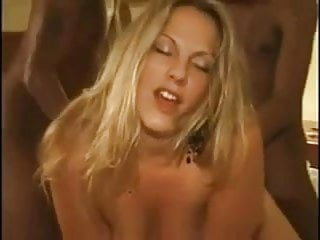 Amateur Wife With Two Black Cocks