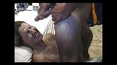 Covered Ashling's Face with Cum