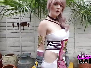 Fantasy final picture xxx - Cosplay babes final fantasy babe cums