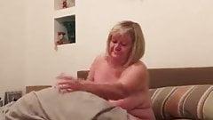 bbw wife reveals all of her body