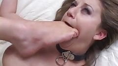 Pregnant spit and feet lesbians
