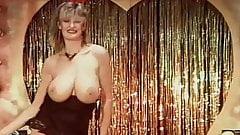 TOUCH ME - vintage English big tits striptease dance