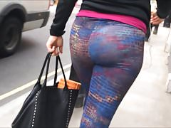 Candid Beautiful Ass in 120fps Slo-Mo!