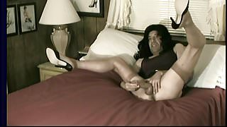 Carol C. Crossdressing Trannydick Stroking Slut