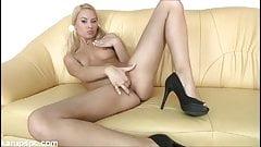 Small Breast Gabriela Gets Pussy Rub