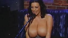 lindsey on howard stern topless talk