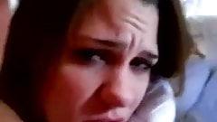 Teen Girl Sucking and Fucking BF Big Cock w Facial