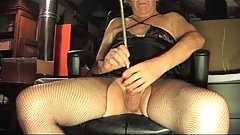 Straight Transvestite Sounding Urethral Lingerie Pantyhose Anal Toy 13