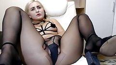 webcam pantyhose relaxing