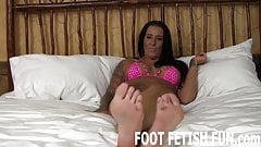My feet will make your cock so hard