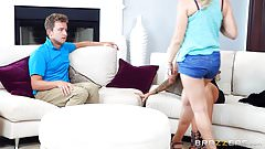 Brazzers - You Need Mum's Approval scene