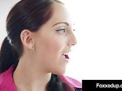 Hot Ebony Jenna Foxx Muff Dives With Realtor Nickey Huntsman's Thumb