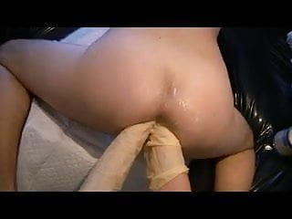 Double Fisting on sunday afternoon from woman, femdom fist