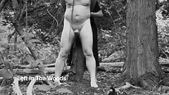 Femdom Slave Tied to a Tree In The Woods By His Mistress