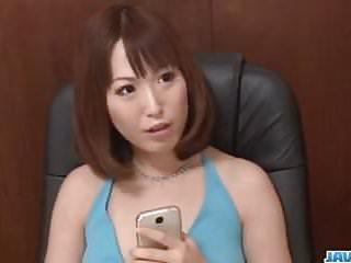 Preview 1 of Steamy porn show for cock sucking mom, Nonoka Kaede