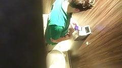 Caught in a public toilett