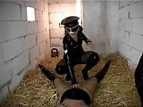 german girl trained in a dungeon