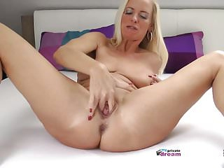 German Milf Squirting And Jerk Off Instruction