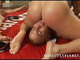 Wrestlehard tag-team gay wrestling