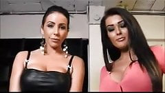 Two hot brunette asses. JOI