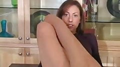 great pantyhose show