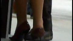 candid shoeplay...