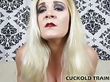 I will put you in your place you little cuckold slut