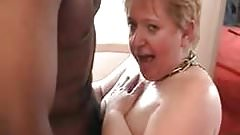 French mature bbw Annie blowjob and fist
