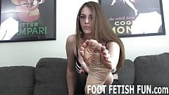 I will let you worship my perfect little feet