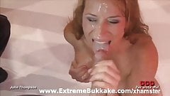 Hot orgy with blonde cock lover Phoebe