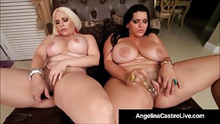 Cuban BBW Angelina Castro & Bedelli Buttland Bang Wet Cunts