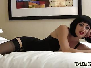 Stroke out a big load of cum and swallow it down CEI