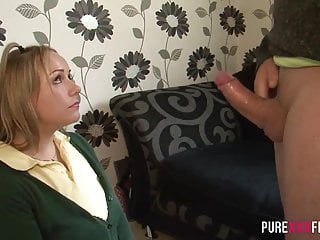 PURE XXX FILMS Riding my not Stepdad
