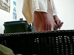 Spa Locker Room spy cumshot204