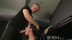 BDSM XXX Horny subs get a good slapping before hardcore anal