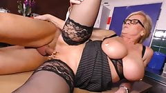 German Big Saggy Tits Granny Marina Montana Stockings kinky
