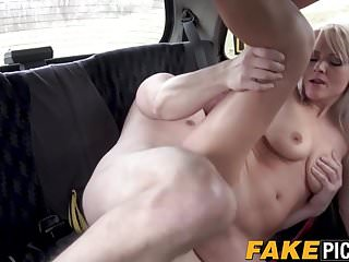 Hot British MILF likes banging passengers in her cab