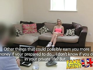 Preview 2 of FakeAgentUK Cowgirls and creampies on the casting couch
